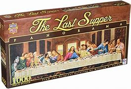 The Last Supper Panorama 1000pc Puzzle - Sweets and Geeks