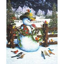 The Western Snowman Puzzle 1000pc - Sweets and Geeks