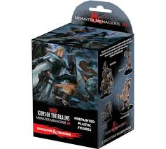 Dungeons & Dragons Fantasy Miniatures: Icons of the Realm Set 8 Monster Menagerie 3 Standard Booster - Sweets and Geeks