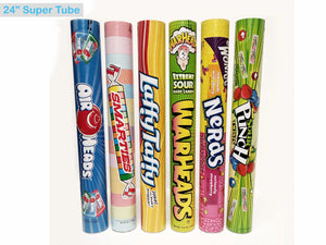 Assorted Super Tubes 6CT - Sweets and Geeks