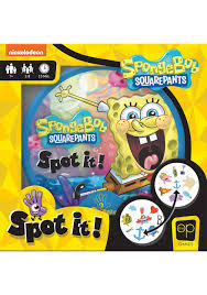 Spot It Spongebob - Sweets and Geeks