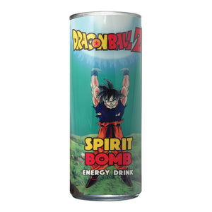 DBZ Spirit Bomb Energy Drink - Sweets and Geeks