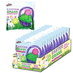 Easter Grass Bubble Gum - Sweets and Geeks