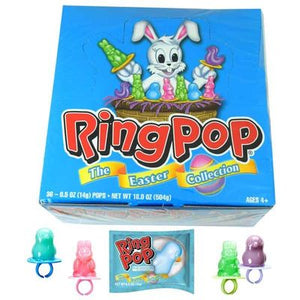 Easter Ring Pops Bunnies & Chicks - Sweets and Geeks