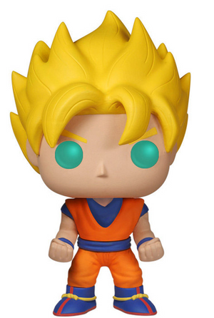 Funko Pop Animation: Dragon Ball Z - Super Saiyan Goku #14 - Sweets and Geeks