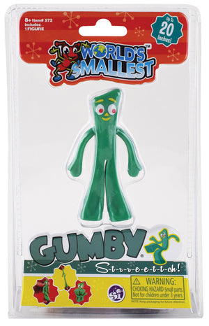 World's Smallest Stretch Gumby - Sweets and Geeks