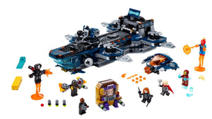 Marvel Avengers Helicarrier - Sweets and Geeks