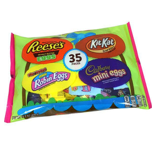 Hershey's Assorted Easter Candy Mix 35 Count - Sweets and Geeks