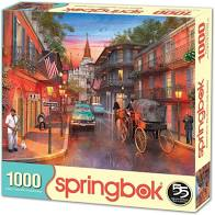 Springbok: Bourbon Street 1000pc - Sweets and Geeks
