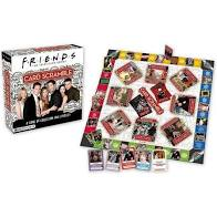 Friends Card Scramble Board Game - Sweets and Geeks