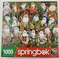 Springbok: Santa Collection 1000 pc - Sweets and Geeks