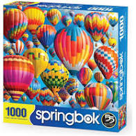Springbok: Balloon Fest 1000pc - Sweets and Geeks