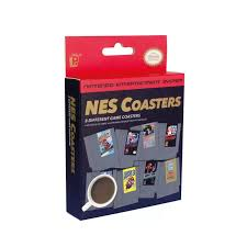 NES Cartridge Coaster - Sweets and Geeks