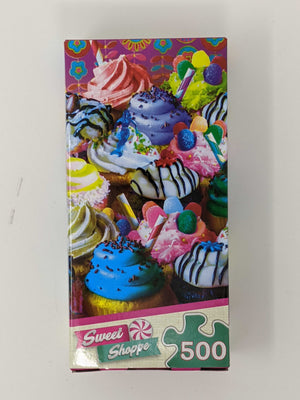 Sweet Shoppe 500pc Puzzle - Sweets and Geeks