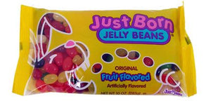 Jelly Beans Fruit Flavored by Just Born 10oz - Sweets and Geeks