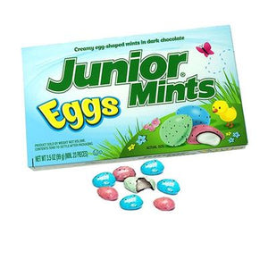 Junior Mints Easter 3.5oz Box - Sweets and Geeks