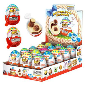 Kinder Joy Easter Eggs 15 Count - Sweets and Geeks