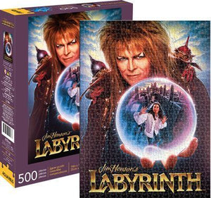 Labyrinth 500pc Puzzle - Sweets and Geeks