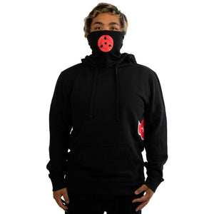 Naruto Lightweight Hoodie with Built-in Gaiter - Sweets and Geeks