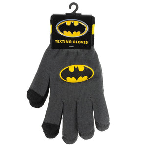 Batman Texting Gloves - Sweets and Geeks
