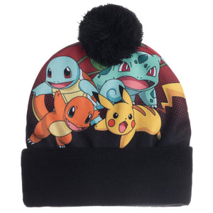 Pokemon Sublimated Crown Beanie - Sweets and Geeks