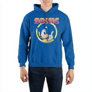 Sonic Ring Unisex Hoodie - Sweets and Geeks