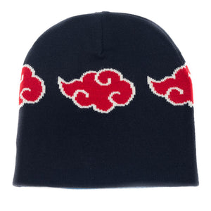 Naruto Leaf Akatsuki Reversible Beanie - Sweets and Geeks