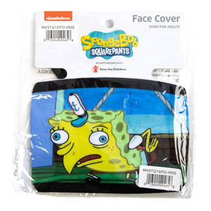 Spongebob Squarepants Face Cover - Sweets and Geeks