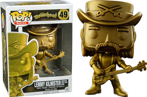 Funko Pop Rocks: Motorhead - Lemmy Kilmister (Rainbow Bar & Grill Statue Edition) #49 - Sweets and Geeks