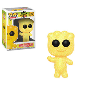 Funko Pop: Sour Patch Kids - Lemon Sour Patch Kid #02 (Item #37109) - Sweets and Geeks