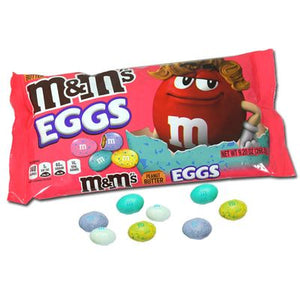 M&M Peanut Butter Speckled Eggs 9.2oz Bag - Sweets and Geeks