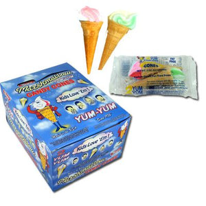 Marpo Marshmallow Cones - Sweets and Geeks