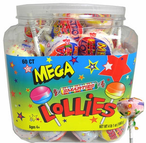 Smarties Double Lollies Mega (Giant) - Sweets and Geeks