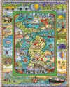 Michigan 1000 Piece Jigsaw Puzzle - Sweets and Geeks