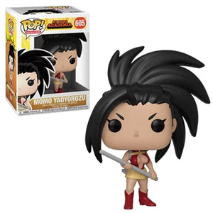 Funko Pop Animation: 80th - My Hero Academia - Momo Yaoyorozu #605 (Item #42935) - Sweets and Geeks