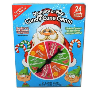 Naughty & Nice Candy Cane Game - Sweets and Geeks