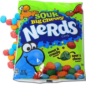 Nerds Big Chewy Sour 6oz - Sweets and Geeks