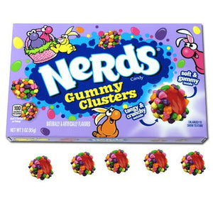 Nerds Easter Gummy Clusters 3oz Box - Sweets and Geeks