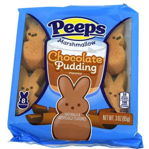 Peeps Chocolate Pudding Bunnies 8 Count - Sweets and Geeks