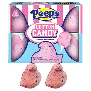 Peeps Cotton Candy 10PK - Sweets and Geeks