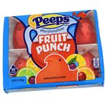 Peeps Fruit Punch Marshmallow Chicks 10 Count - Sweets and Geeks
