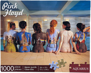 Pink Floyd - Back Art 1,000pc Puzzle - Sweets and Geeks