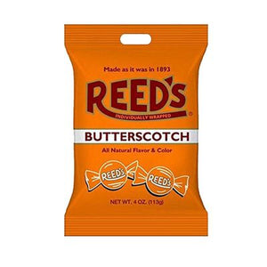 Reed's Butterscotch Hard Candies 4oz Bag - Sweets and Geeks