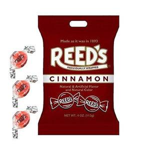 Reed's Cinnamon Hard Candies 4oz Bag - Sweets and Geeks