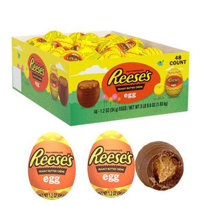 "Reese's Peanut Butter ""Creme"" Eggs - Sweets and Geeks"