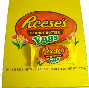Reese's Peanut Butter Eggs - Sweets and Geeks