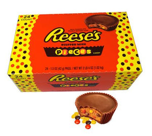 Reese's Pieces Peanut Butter Cup - Sweets and Geeks