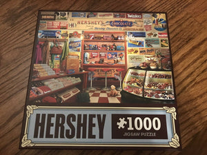 Hershey's 1000pc Puzzle - Sweets and Geeks