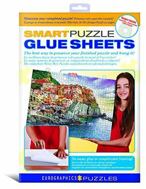 Smart Puzzle Glue Sheets - Sweets and Geeks