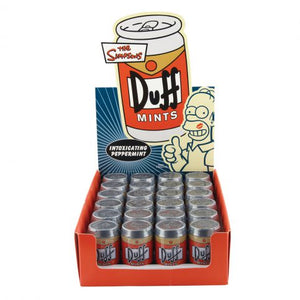 Simpsons Duff Mints - Sweets and Geeks